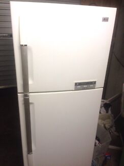 Large LG 465L fridge freezer. Can deliver.  Maroochydore Maroochydore Area Preview