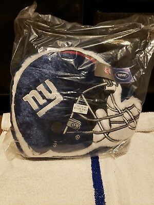 New York Giants Forever Collectibles 14 Inch Helmet Blue Pillow couch bed 7904f39aa