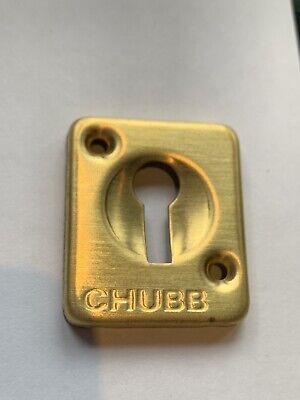 Original CHUBB Keyhole Escutcheons