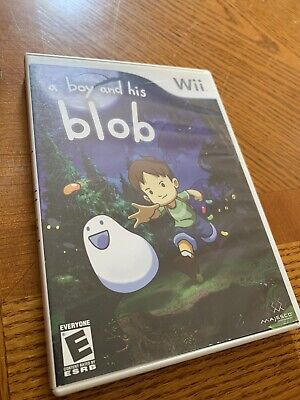 Nintendo Wii Video Game : A Boy And His Blob Quick Ship