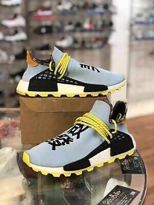 Inspiration Pack (Adidas Human Race NMD Inspiration Pack Clear Sky Blue EE7581 - Men's Size 9)