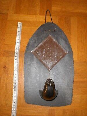 Teelicht Spiegel (Design Teelichthalter Schiefer Kerzenhalter Spiegelfliese Bad Wandkerzenhalter)