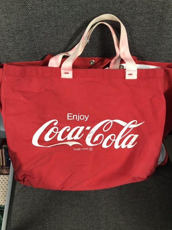 Coca Cola Canvas Tote