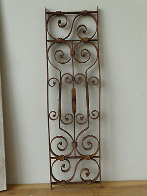 U2676 Window Bars ~ Balkongitter~Trellis~Art Nouveau Fence Element Grid