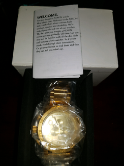 BRAND NEW NIXON CHRONOGRAPH WATCH