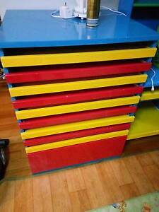 Kids artrowrk rollout shelves $80 Chatswood Willoughby Area Preview