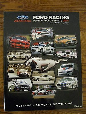 Ford Truck Performance Parts -  genuine 2014 Ford Racing Performance Parts catalog racing Mustang cars trucks