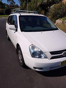 2006 kia carnival grand ex $7900neg 6 months rego Campbelltown Campbelltown Area Preview