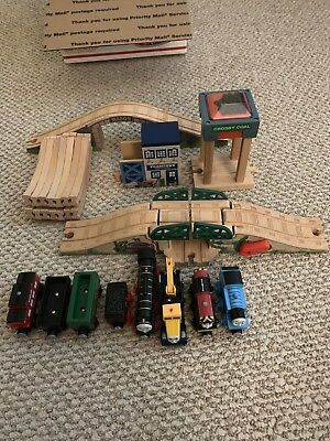 Thomas the Tank Engine Train Wooden Railway Lot Engines Thomas Hiro Butch Salty