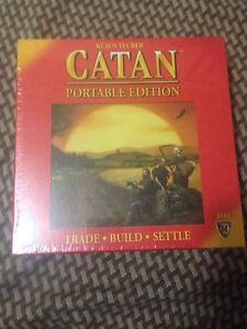 Settlers of Catan  portable edition sealed
