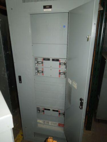 GE Spectra Series 800A 3ph 4W 480Y/277V MLO Panel w/Distribution Breakers NEMA 1