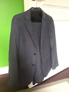Grey youth suit , size 14