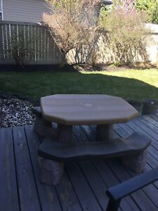 Kids picnic table $50 o.b.o.