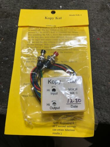 Tricked_out_CB_radio **KOPY KAT RECORDER** For CB and Export Radios
