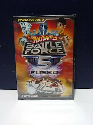 Hot Wheels: Battle Force 5 Fused - Season 2, Vol. 3 (DVD, 2014) -- NEW