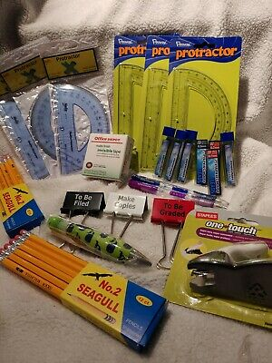 Lot Of Office Or School Supplies