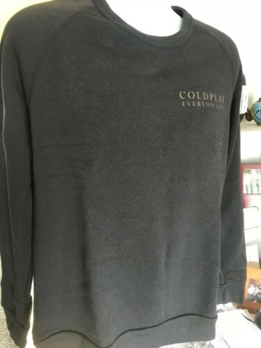 ColdPlay Everyday Life Jump Moon Sun sweatshirt new size L