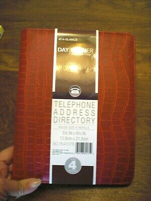 Telephone Address Book Directory By Day Runner At-a-glance