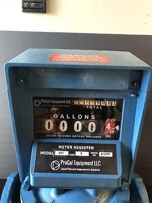 Neptune Meter Register Model 831 Code 0 Warranty Oil Gas Bio Diesel Fuel Call