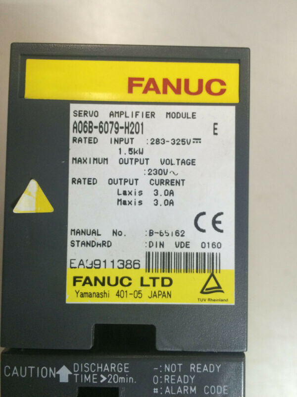 Fanuc Power Supply A06b-6081-h101 Refurbished Unit...exchange Only!!