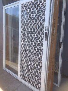 New white aluminium sliding doors Casula Liverpool Area Preview