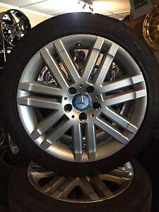 "17"" Mercedes wheels rims 5x112 audi vw euro Waterford Logan Area Preview"