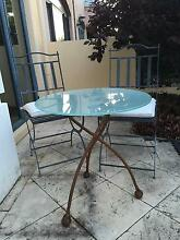 Outdoor Table and 2 chairs with cushions East Perth Perth City Preview