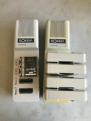 Sokkia Sdr33 1mb Expert Survey Data Collector Chargers Batteries Adapters