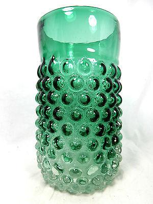 """Rare seltene original 70´s """" bubble """" design Lenti Murano glass Glas vase 23 cm"""