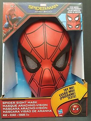 Spiderman Homecoming-Spider Sight Electronic Mask for Children or adults