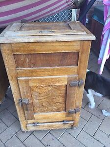 Antique ice chest Nairne Mount Barker Area Preview