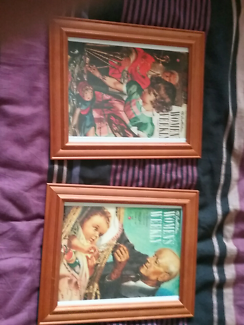 Framed prints old  Australia women's  weekly covers
