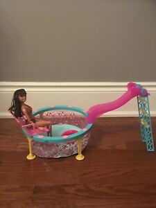 Barbie dream pool and doll
