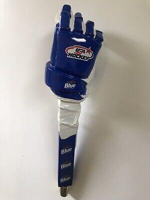 NIB Labatt Blue USA hockey glove tap handle. Beer Taps. NHL.