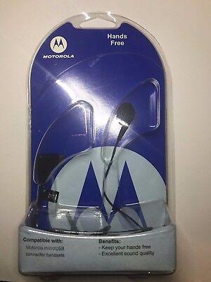 Original NEW OEM Motorola S270 Mono micro USB Handsfree Headset MOTO Z9 Z6c V8
