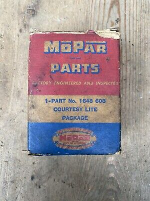 NOS MoPar 1956 Plymouth, Dodge Courtesy Light Package #1648608