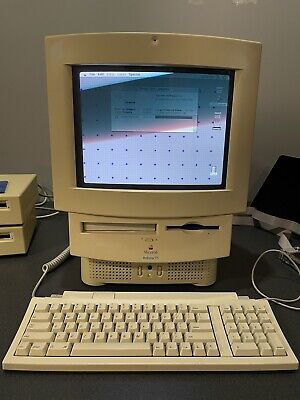 Vintage Apple Macintosh LC575 All In One Computer