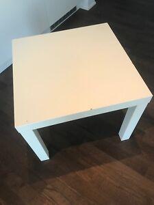 IKEA lack white table