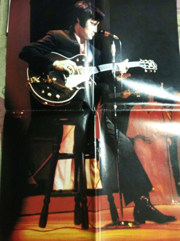 """Elvis Presley Las Vegas Hilton 1970 Large 18"""" x 24 """" Color Poster"""