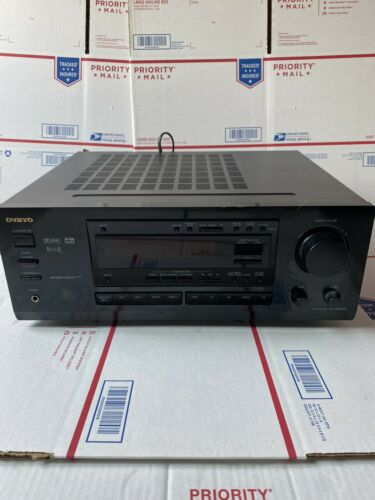 Onkyo TX-DS575X 5.1 CH Surround Sound Home Theater A/V Receiver No Remote - $99.99