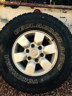 Standard Hilux Rims & Tyres x4 Muswellbrook Muswellbrook Area Preview