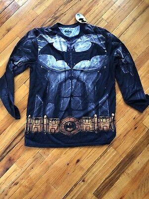 Bioworld DC Comics Batman Full Body Suit Graphic XL/XLT Warner Bros. Nwt (Full Body Batman Suit)