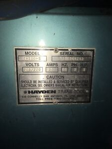 Hayden cabinet parts washer! 2000$OBO!!
