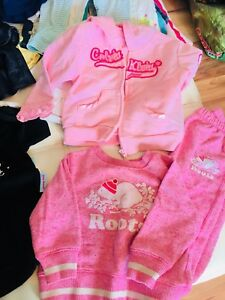 28 pieces of size 12-18 month's girl's clothes.