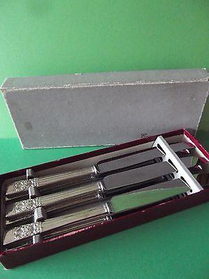 ONEIDA? COMMUNITY PLATE HAMPTON COURT TABLE KNIVES X 6 BOXED - UNUSED - VINTAGE