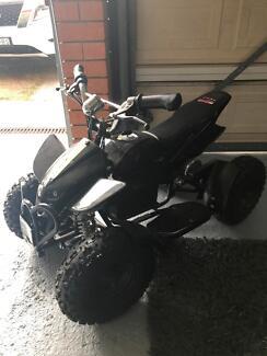 Quad motor bike