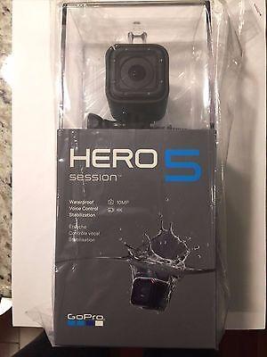 New GoPro Hero 5 Session 4K Ultra HD, 10MP, Wi-Fi, Waterproof Action Camera