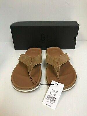 Ugg Men's Beach Flip Flop Chestnut Suede Sandals - New ()
