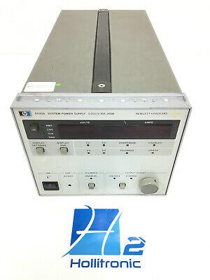 Hp Agilent Keysight 6033a System Power Supply 20v 30a Used