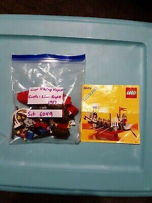 "Lego castle vintage, "" Viking Voyager "" set# 6049, year 1987"